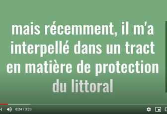 "Projets: ""la protection du littoral"""
