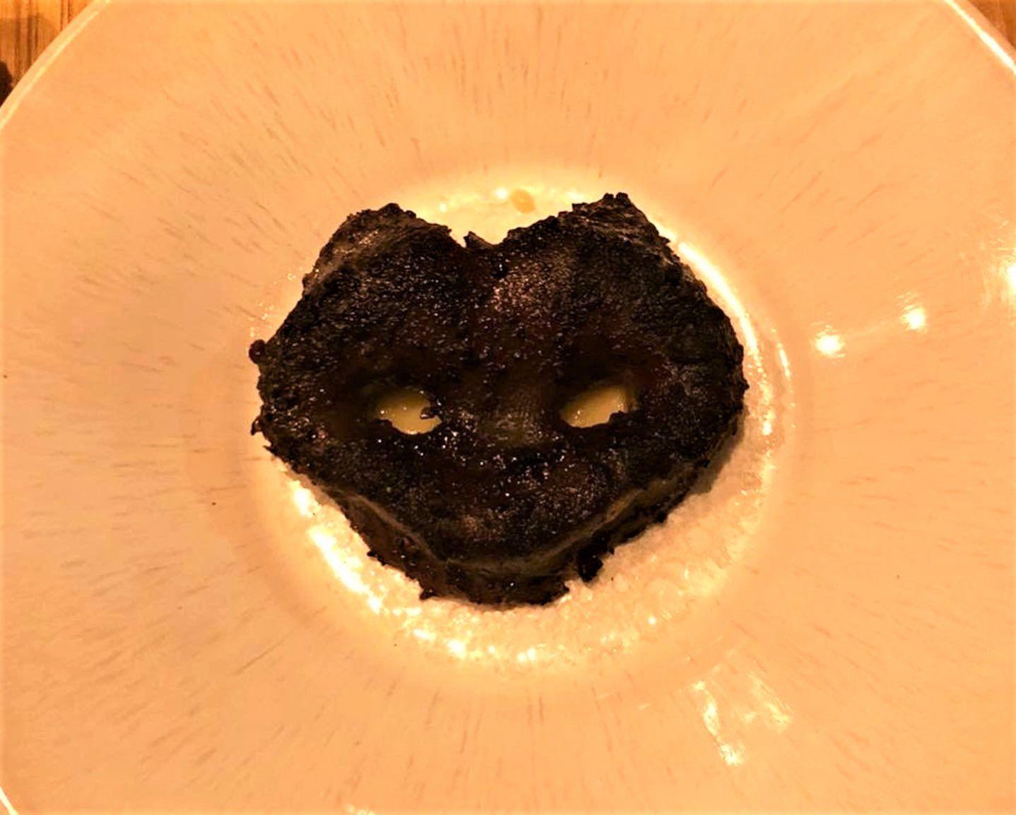 Groin de cochon purée de pomme de terre La Machine à coudes restaurant Boulogne billancourt