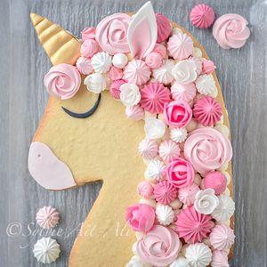Gâteau licorne façon numbercake