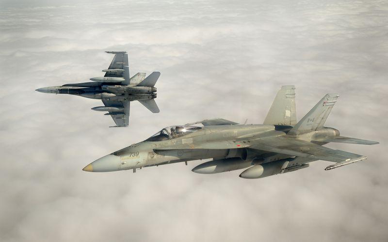 Des CF-188 Hornet canadiens au Koweït pour lutter contre l'Etat Islamique