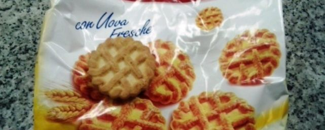 Pastefrolle Balocco (in realta', a dire la verita', si tratta di un biscotto)
