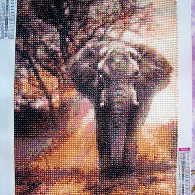 L'éléphant pour maman....