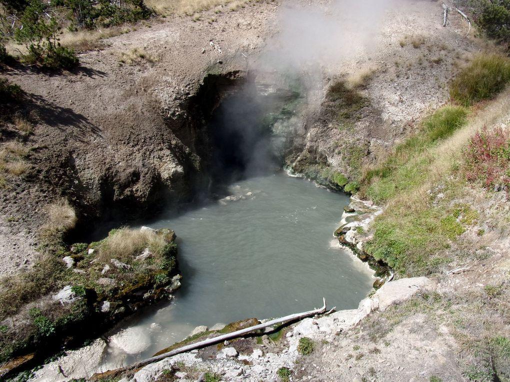 Voyage en Amérique.... D'Idaho Falls à Cody en passant par Yellowstone.