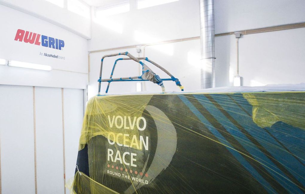 AkzoNobel and Awlgrip named as Official Supplier to The Volvo Ocean Race Boatyard