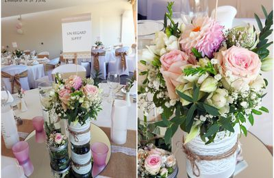 Mariage au Domaine du Mas Dieu à Montarnaud, ambiance romantique | Fleuriste Mariage Montpellier
