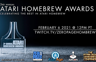 Atari Homebrew Awards, and the winners are...