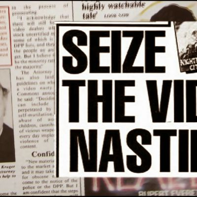Video Nasties : Moral, Panic, Censorship and Videotapes