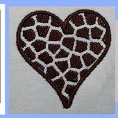 Remplissage peau de girafe ou fleur de tounesol avec Inkscape