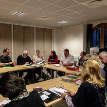 3 mars première réunion de la commission Culture Patrimoine et Sport de la CCAPV