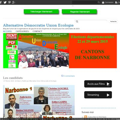 Alternative Union Démocratie Ecologie   A.U.D.E