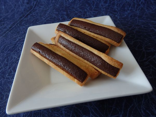 Cookies  sticks façon « chocolatines »