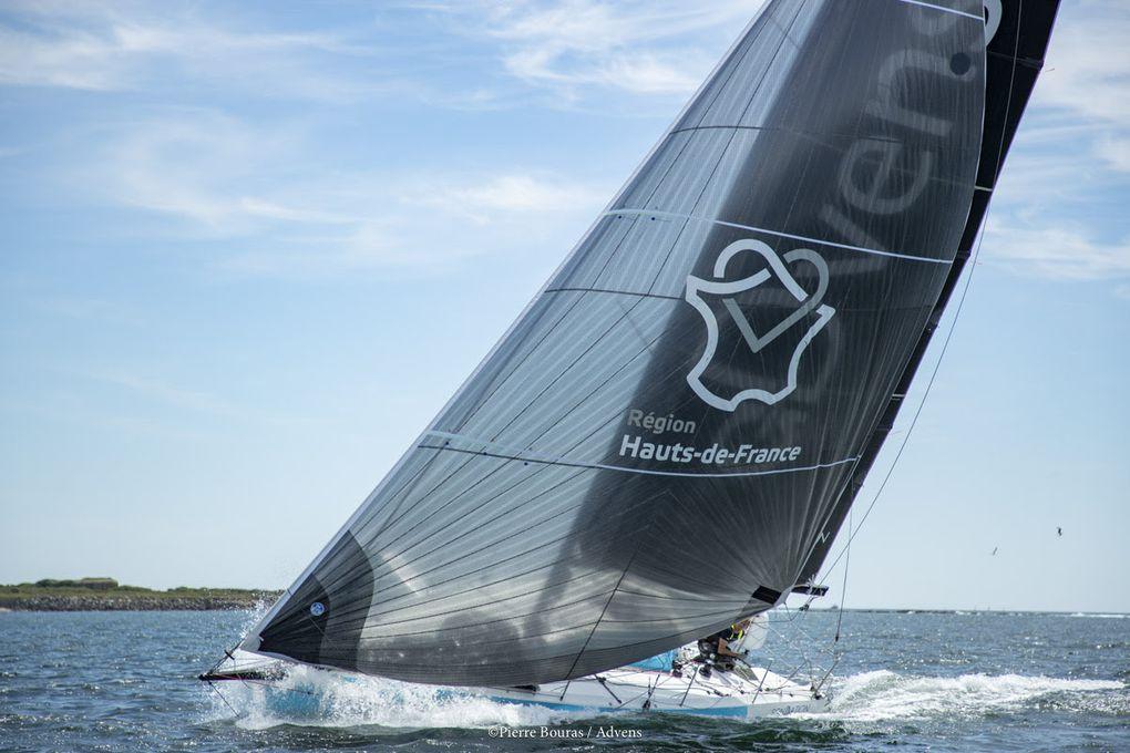 Le skipper Thomas Ruyant soutenu par la Région Hauts-de-France sur la Solitaire Urgo Le Figaro