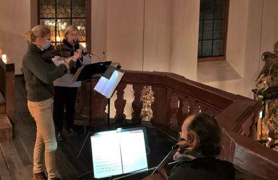Ensembles der Veitshöchheimer Musikschule musizierten an allen Adventssamstagen bei den Vorabendmessen in der Vituskirche
