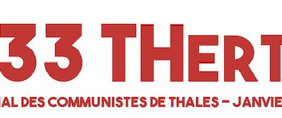 Pour un avenir joyeux... les communistes de Thales sortent leur journal