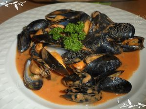 Moules à la Bordelaise