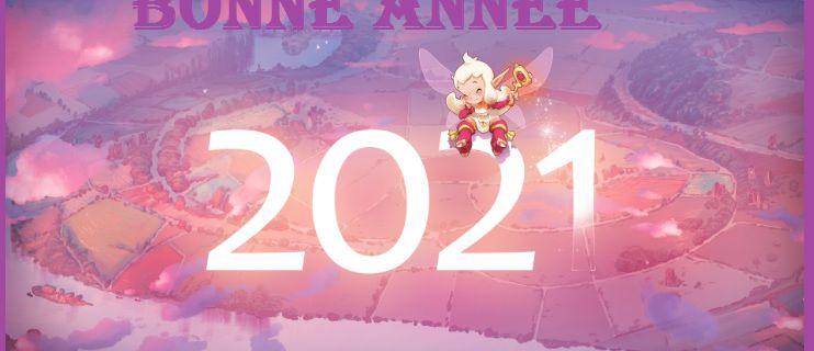 Bonus XP pour commencer l'année 2021 Dofus