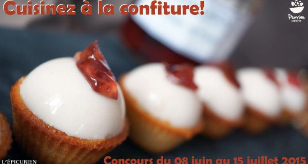 Les résultats du concours « cuisinez à la confiture » enfin sur le blog !