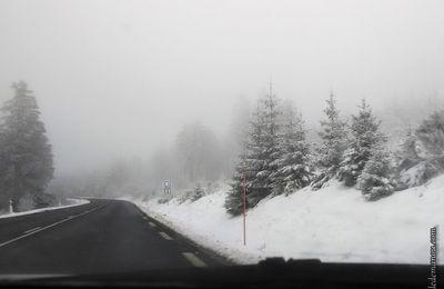 Retour de vacances sous la neige...