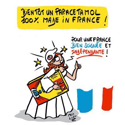Médicaments : la France veut relocaliser le Paracétamol !
