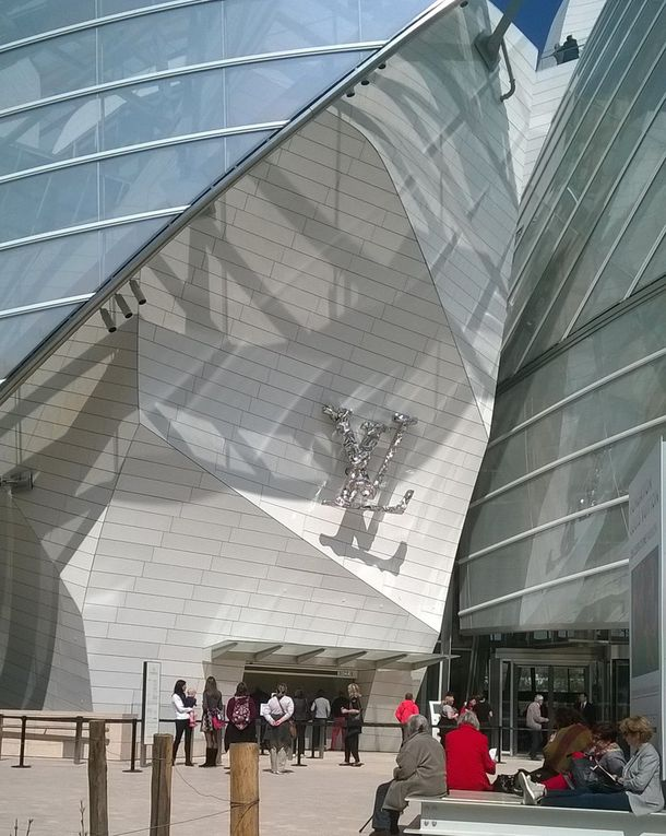 La Fondation Louis Vuitton: un défi architectural