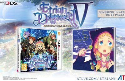 Etrian Odyssey V : Beyond The Myth disponible en version physique !