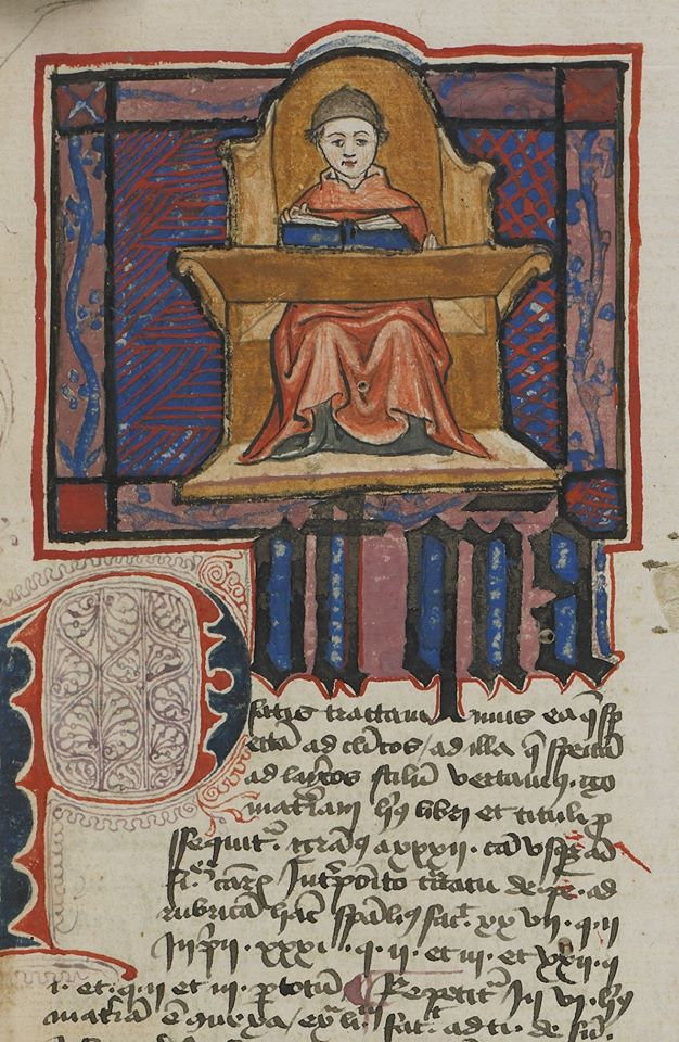 Dans le scriptorium de l'abbaye de Saint-Claude. Archives départementales du Jura
