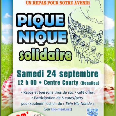 Opération solidaire The Meal 24 septembre 2016