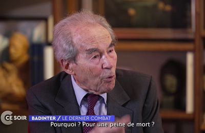 Admirable Robert Badinter