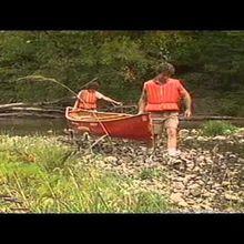 Techniques de navigation en canoë sur eau calme