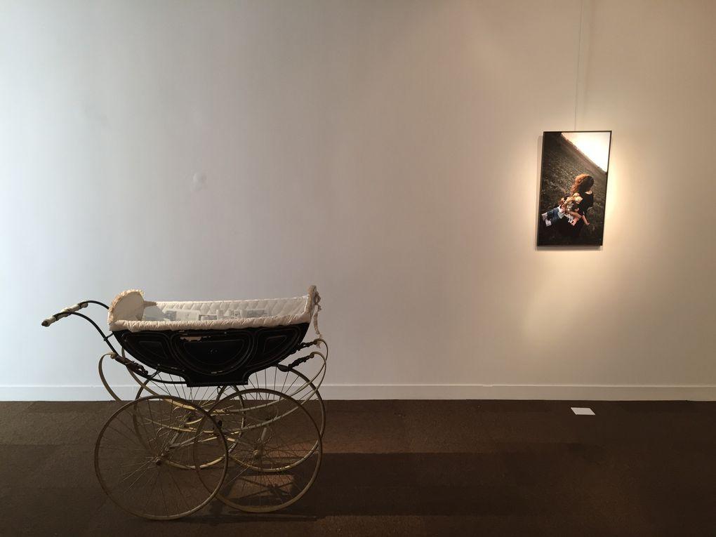 Quelques photographies de l'exposition et du vernissage, samedi 21 janvier 2017