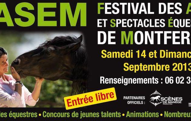FESTIVAL DES ARTS ET SPECTACLES EQUESTRES DE MONTFERRAT 2013