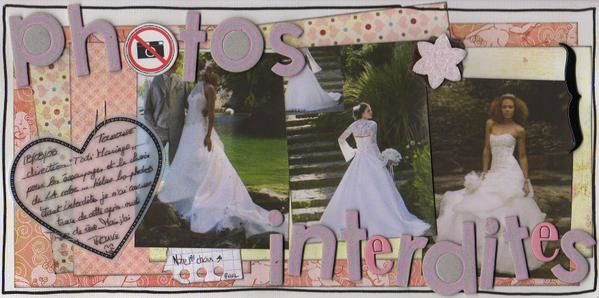 Les pages faites pour les préparatifs du mariage (et quand elles seront faites, les pages du jour J en lui-même ^_^)