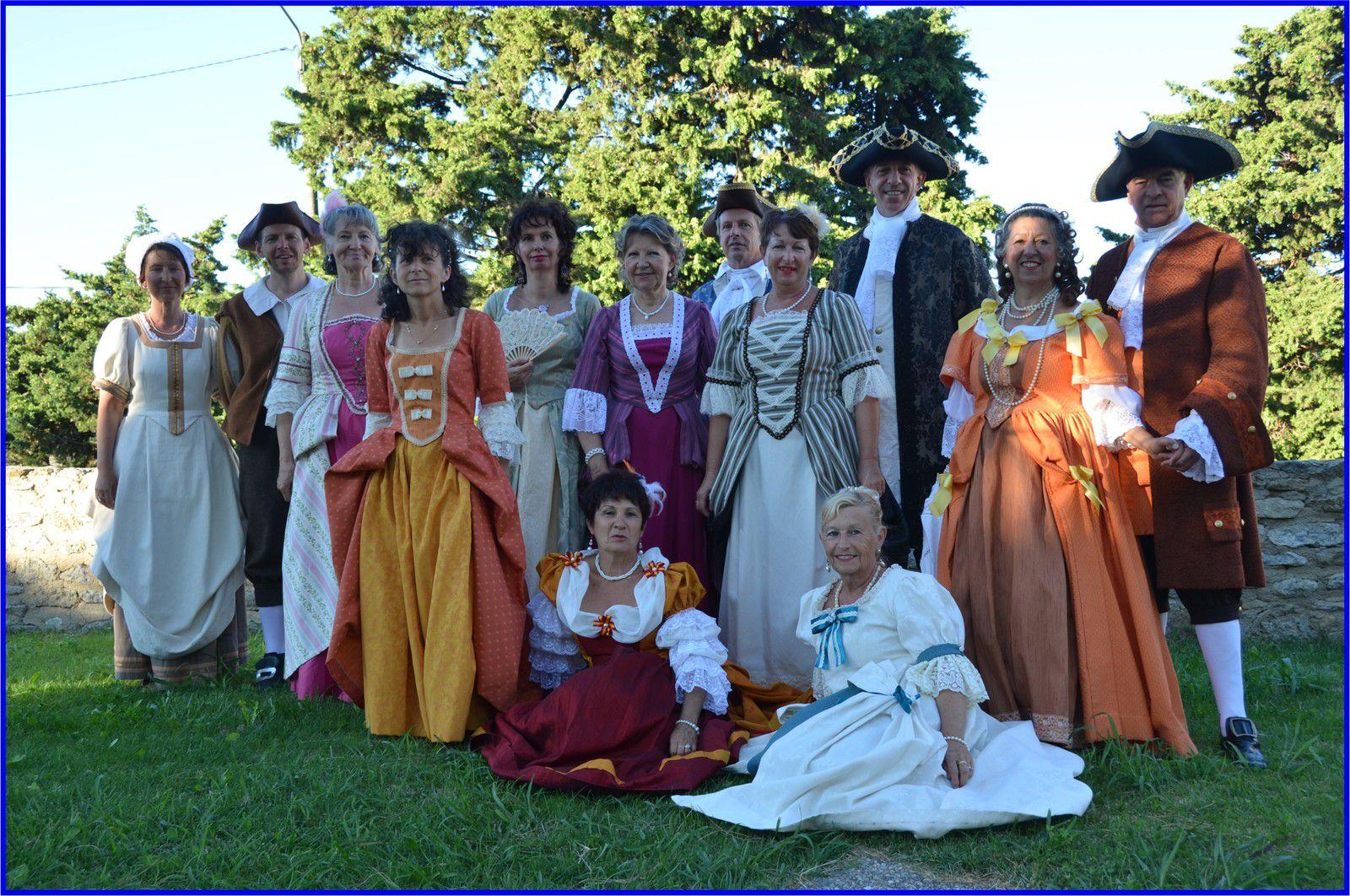Costumes 17ème siècle