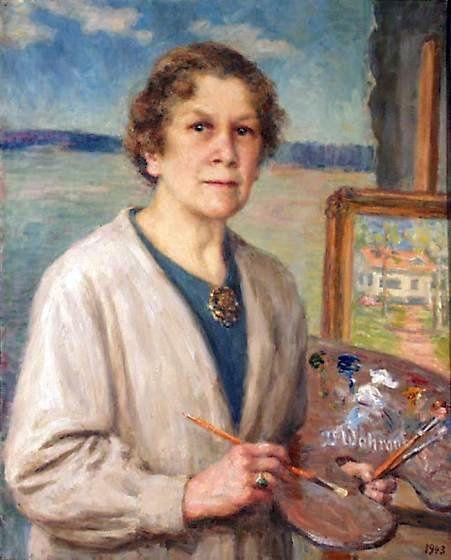 """Album d'autoportraits réalisés par des femmes peintres. Sur ce blog, onze articles à (re)découvrir dans la rubrique """"Autoportraits de peintres"""" (numérotés de 1 à 11) présentent d'autres artistes."""