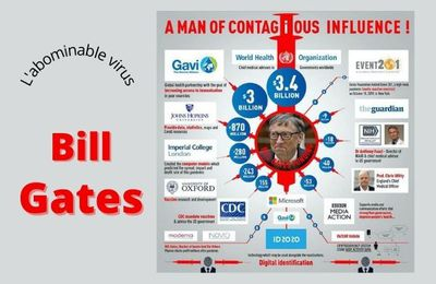 Bill gates, l'abominable virus