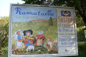 LA FOIRE AUX SANTONS DE RAMATUELLE 1/5