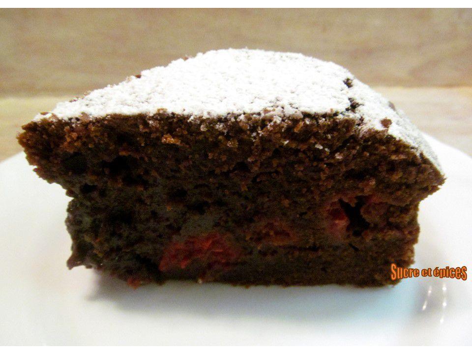 Gâteau au chocolat et aux framboises - Recette en video