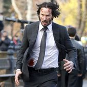 Keanu Reeves a bloody mess filming John Wick 2 in New York City