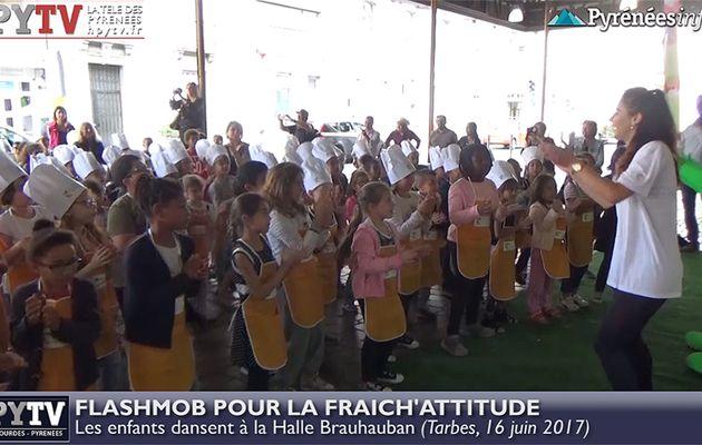 HPyTv Reportage | Flashmob sous la Halle pour la Fraich'Attitude (16 juin 2017)