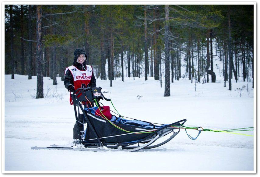 Seconde course de la saison 2015 à Nornäs en Suède avec la victoire de Stéphanie en classe A limitée