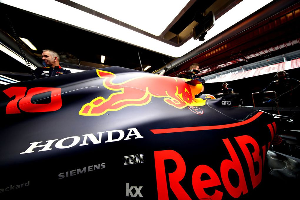 Getty Images / Red Bull Content Pool - Honda a voulu être visible chez Red Bull