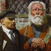 Le peintre soviétique Geli Korjev