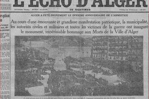 GUERRE 14/18 et les Français d'Algérie - I H. Martin Berthet