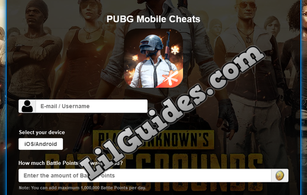 PUBG Mobile Cheats and Hack [Unlimited BP and UC]