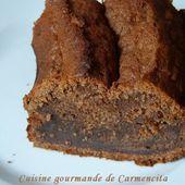 Gâteau moelleux chocolat banane - Cuisine gourmande de Carmencita