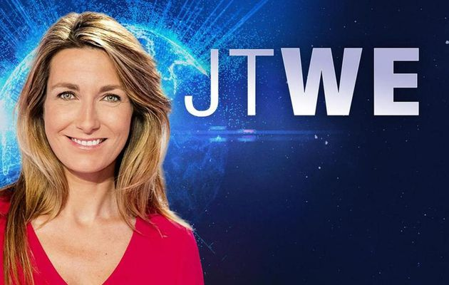 Le JT du week end 13h de TF1 du 12 mars