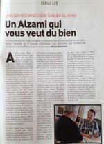 Alzheimer : Un Alzami qui vous veut du bien @Socialter