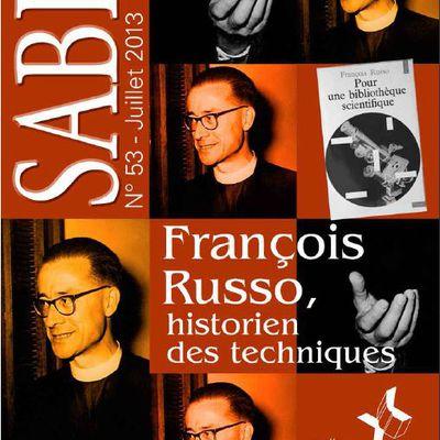 Bulletin SABIX n° 53 : François Russo et l'histoire des techniques