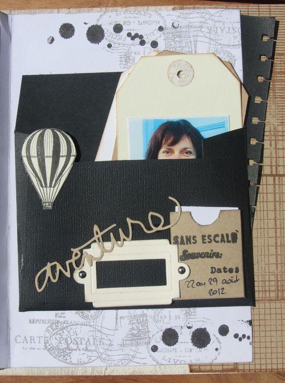 Mini réalisé lors d'un cours avec Valérie Portais...Vacances août 2012 avec Angé, Carole et Juliette à Santorin...