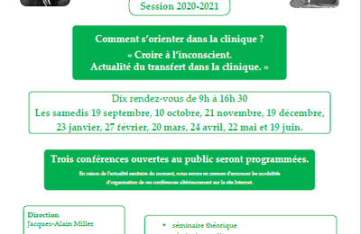SECTION CLINIQUE de CLERMONT-FERRAND - Session 2020-2021 - Comment s'orienter dans la clinique?